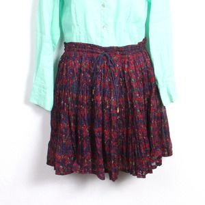 Short Circuit Broomstick Skirt Size M NWT